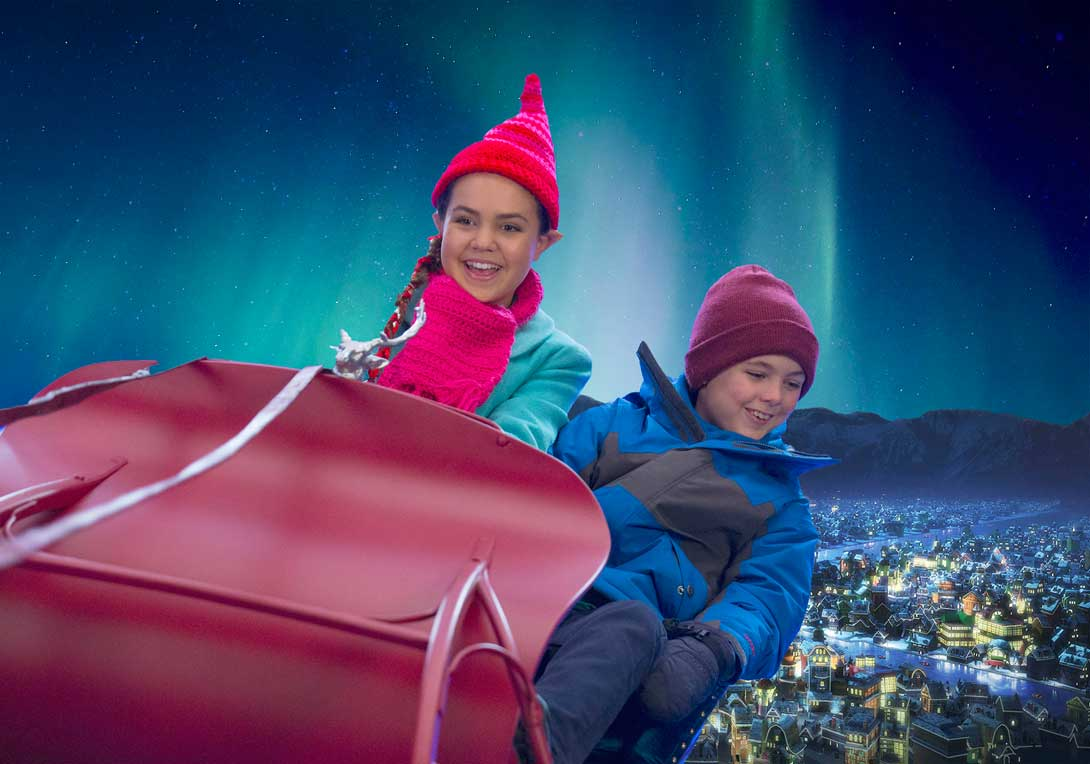 Polarszenen John Next Door Stanzschablonen f/ür Weihnachten